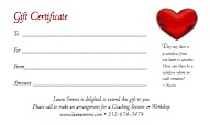 Laura Simms Gift Certificate